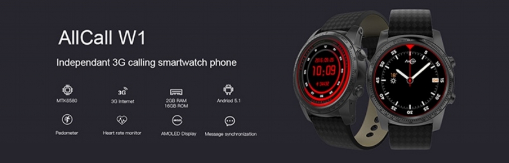 AllCall W1 3G Smartwatch Review Heart rate monitor
