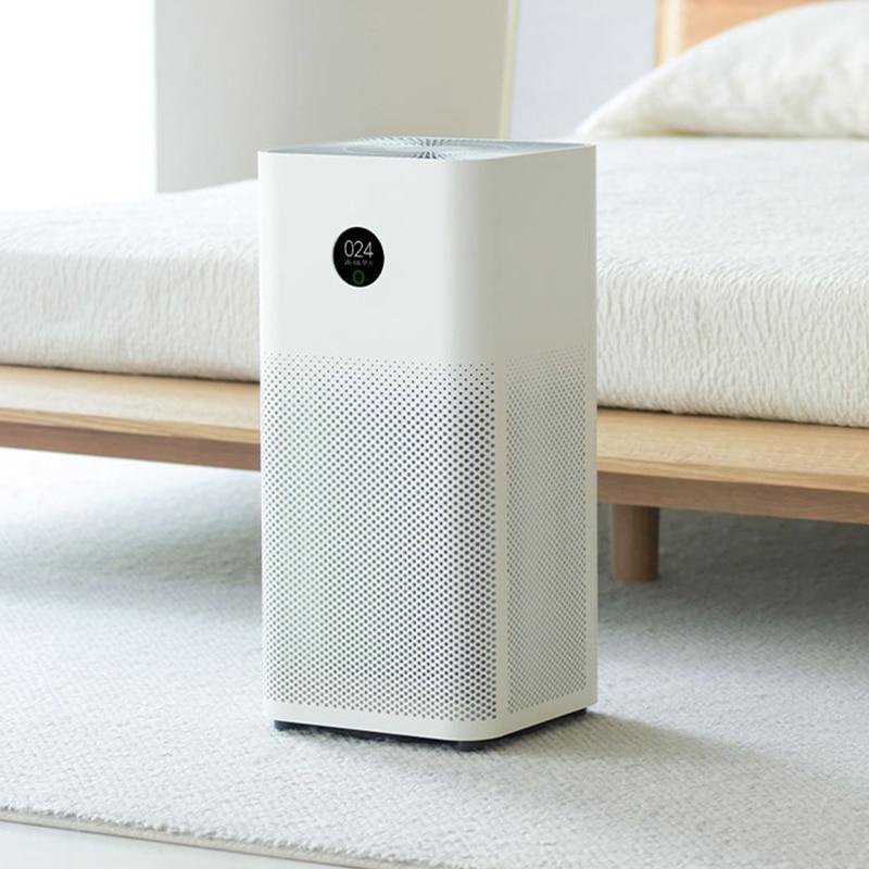 Xiaomi Air Purifier 3 3H Filter Mi Air Cleaner Fresh Ozone Home Auto Smoke Formaldehyde Sterilizer Cube Smart MIJIA APP Control|Air Purifiers| - AliExpress