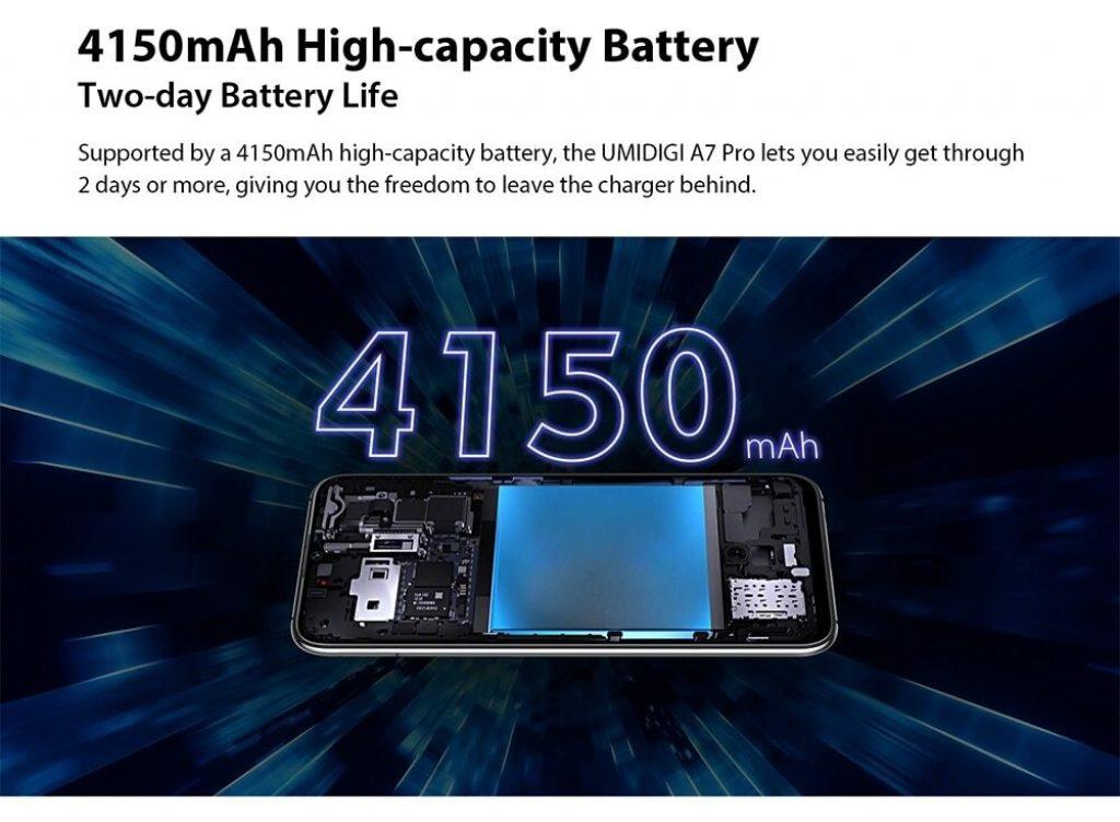 UMIDIGI A7 Pro Battery