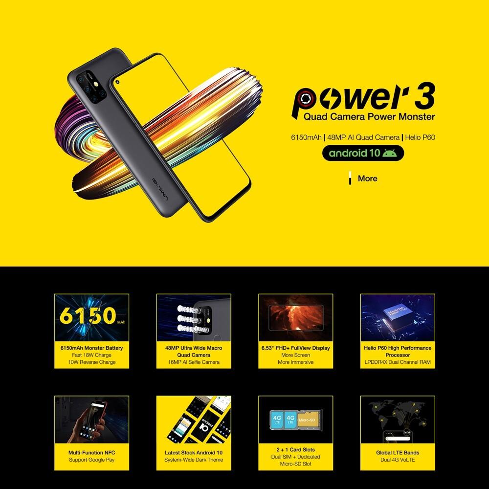 UMIDIGI Power 3 review